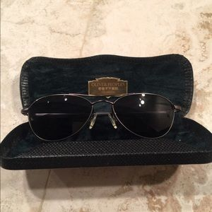 VINTAGE AÉRO OLIVER PEOPLES SUNGLASSES 54 17 140